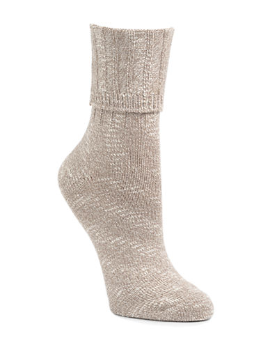 Mcgregor Classic Cotton-Blend Crew Socks-MEDIUM GREY-9-11