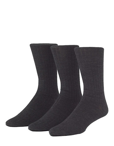 Mcgregor Wool Rib Crew Socks Three Pack-MISCELLANEOUS-7-12 84203772_MISCELLANEOUS_7-12