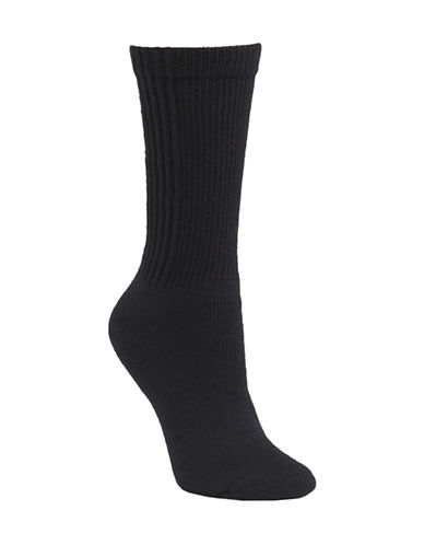 Mcgregor Wool and Cotton Walking Crew Sock-NAVY-One Size