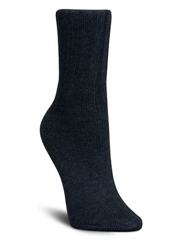Mcgregor Classic Cotton-Blend Crew Socks-DENIM-One Size