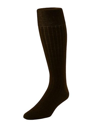 Mcgregor High Executive Socks-BROWN-7-12