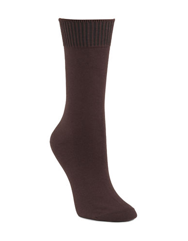 Mcgregor Caribbean Crew Socks-BROWN-9-11