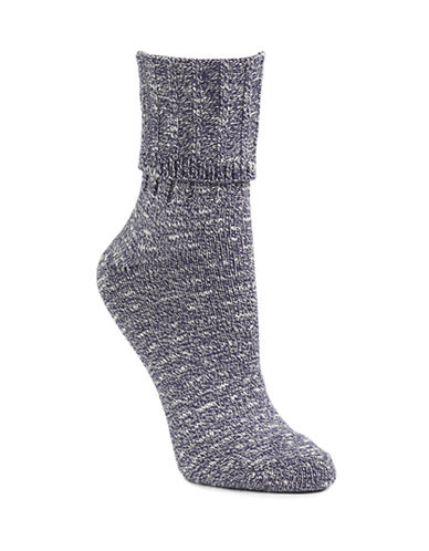 Mcgregor Classic Cotton-Blend Crew Socks-NAVY MIX-9-11