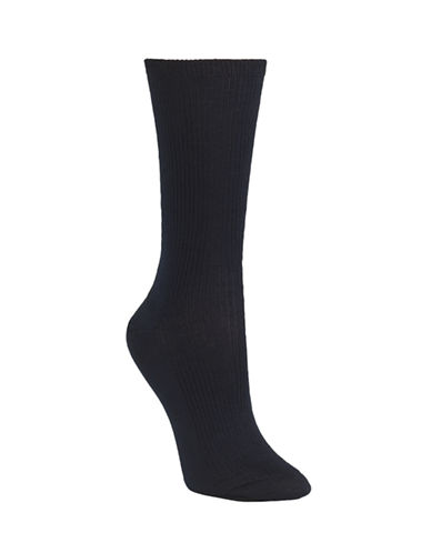 Mcgregor Mercerized Ribbed Socks-BLUE-One Size