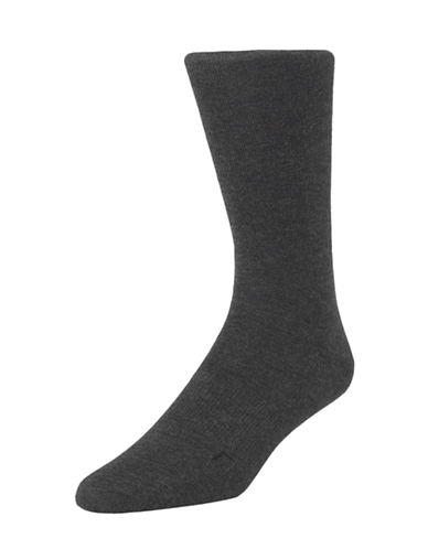 Calvin Klein Mens Ergonomic Fit Socks-GRAPHITE-7-12