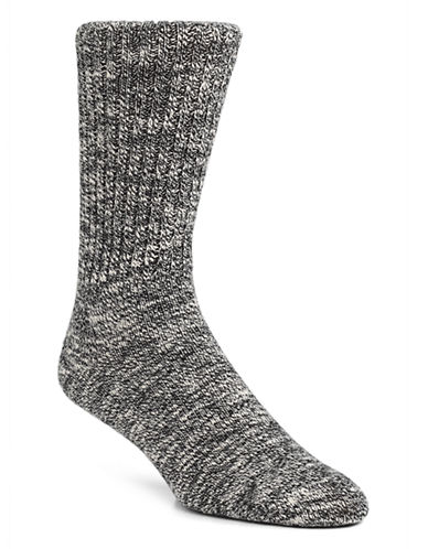 Mcgregor Mens the Original Weekender Socks-BLACK HEATHER-7-12