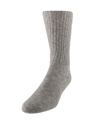 Mcgregor Original Ribbed Weekender Socks-GREY-7-12
