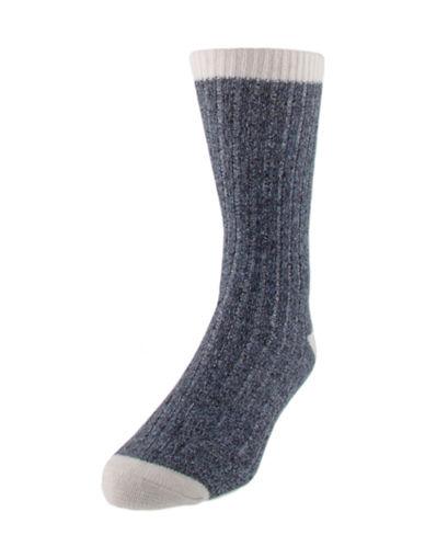 Mcgregor Wool-Blend Work Socks-BLUE-7-12