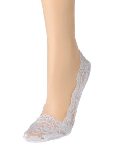 Calvin Klein Lace Ballet Liner-WHITE-One Size