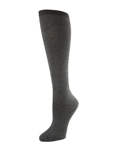 Mcgregor McGregor Mercerized Knee High-GREY-One Size