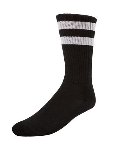 Mcgregor Superstar Crew Socks-BLACK-7-12