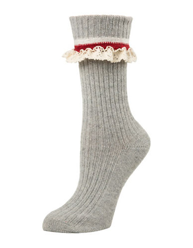 Mcgregor Lace Crew Socks-OXFORD-One Size