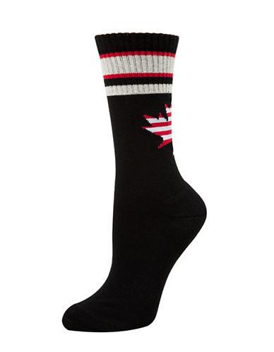 Mcgregor Cushion Work Crew Socks-BLACK-One Size