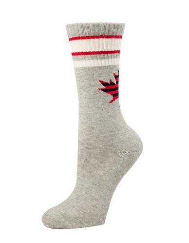 Mcgregor Cushion Work Crew Socks-GREY-One Size