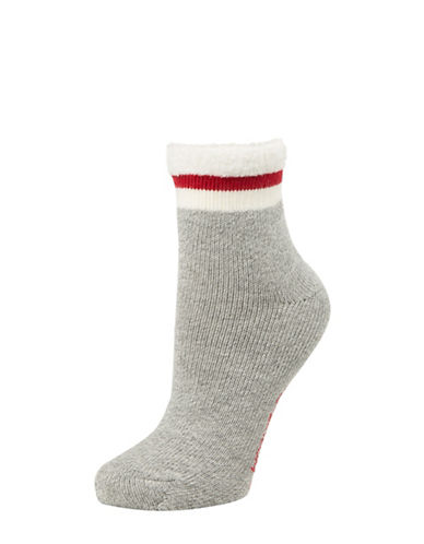 Mcgregor Thermal Anklet Socks-WHITE-One Size