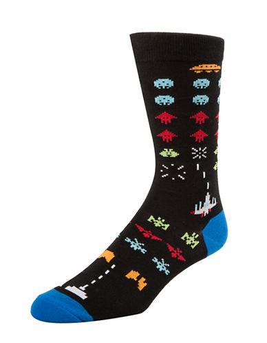 Mcgregor Mens Game Over Socks-BLACK-7-12