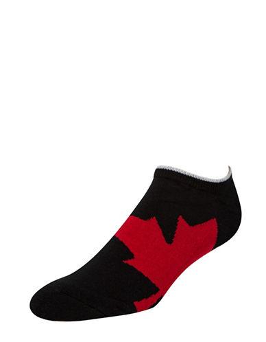 Mcgregor Canadian Liner Socks-BLACK-7-12