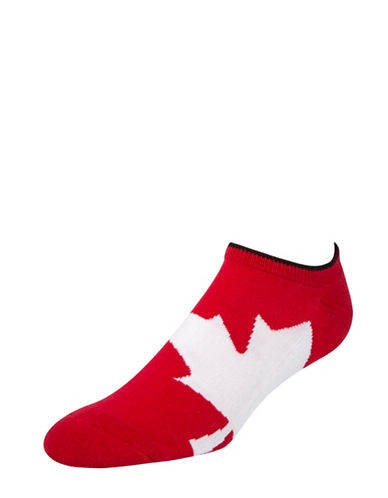 Mcgregor Canadian Liner Socks-RED-7-12
