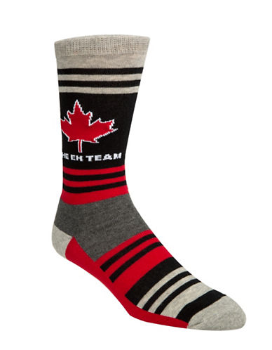 Mcgregor The Eh Team Crew Socks-GREY-7-12