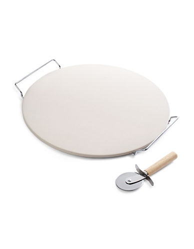 Classic Chef Jumbo Pizza Stone and Rack-NO COLOUR-One Size