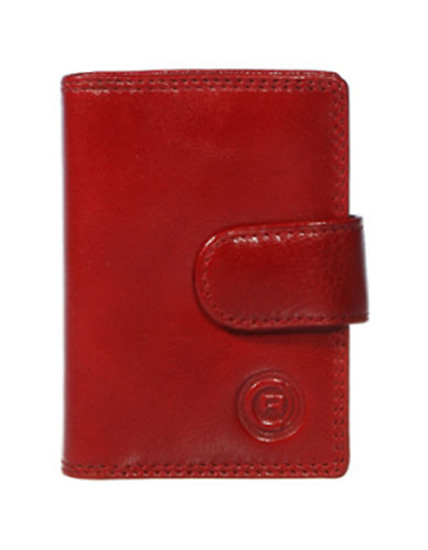 Club Rochelier Traditional Jumbo Card Holder-RED-One Size