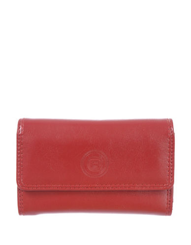 Club Rochelier Traditional Slim Clutch-RED-One Size
