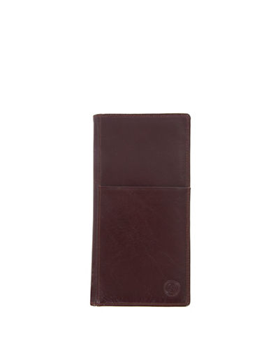 Club Rochelier Traditional Leather Ticket Wallet-BROWN-One Size