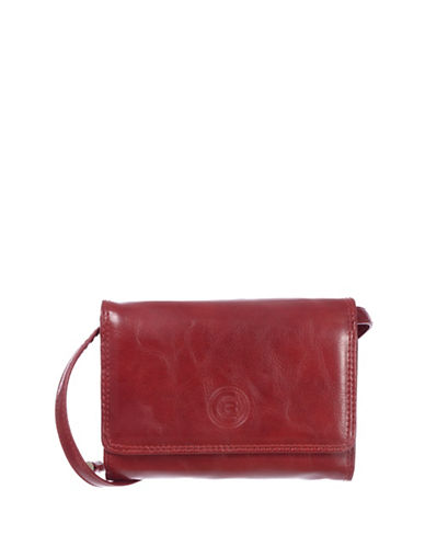 Club Rochelier Traditional Expander Wallet-RED-One Size