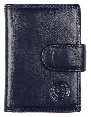 Club Rochelier Traditional Jumbo Card Holder-NAVY-One Size