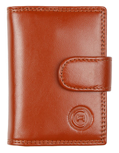 Club Rochelier Traditional Jumbo Card Holder-COGNAC-One Size