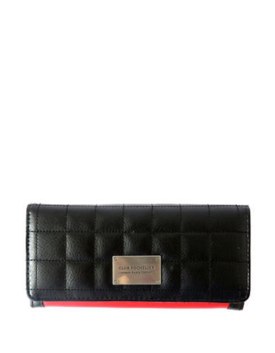 Club Rochelier Tammi Expander Clutch-BLACK-One Size