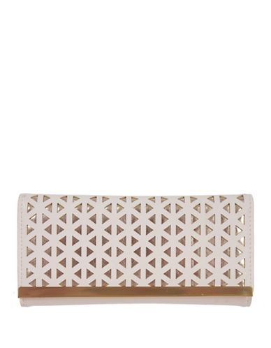 Club Rochelier Reese Slim Fold Wallet-WHITE-One Size