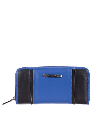 Club Rochelier Shelley Zip-Around Wallet-BLUE-One Size