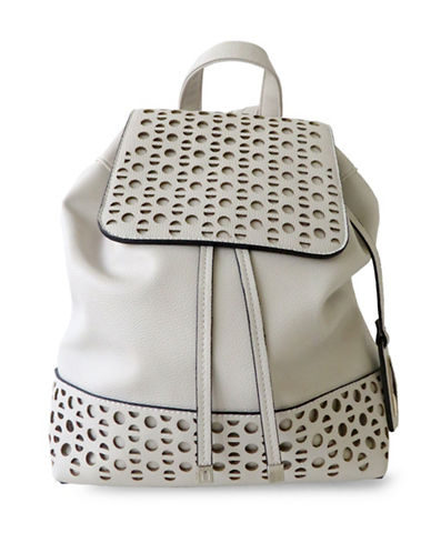 Club Rochelier Convertible Backpack-WHITE-One Size