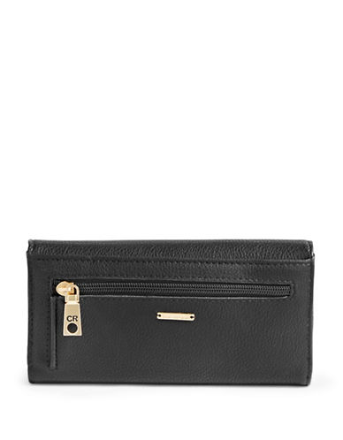 Club Rochelier Traditional Continental Wallet-BLACK-One Size