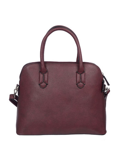 Club Rochelier Crossbody Hands Free Satchel-BORDEAUX-One Size