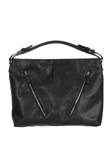 Club Rochelier Classic Hobo Bag-BLACK-One Size