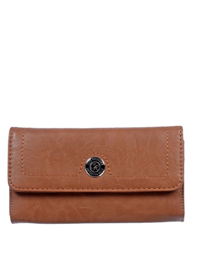 Club Rochelier Clarissa Collection Clutch-BROWN-One Size
