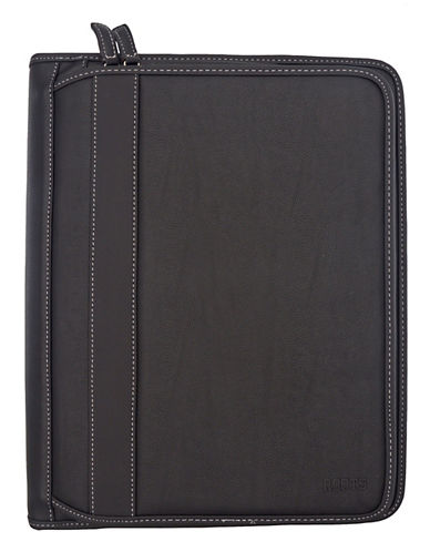 Roots Deluxe Padfolio Binder-BLACK-One Size