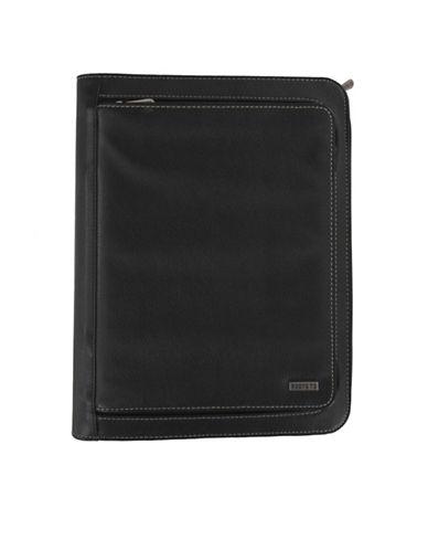 Roots 73 iPad Holder Padfolio-BLACK-One Size