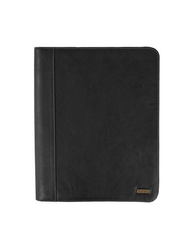 Roots 73 Executive Padfolio-BLACK-One Size