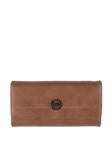 Roots 73 Earth Day Pocket Clutch-CAMEL-One Size