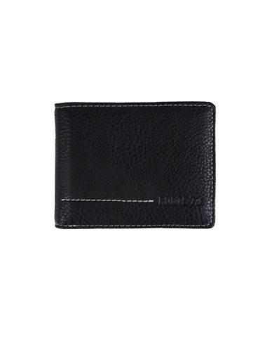 Roots Rugged Slim-Fold Wallet-BLACK-One Size