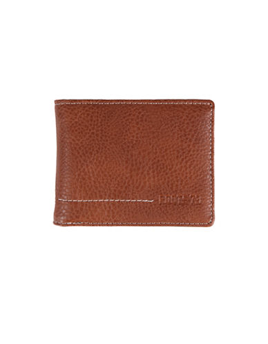 Roots Rugged Slim-Fold Wallet-COGNAC-One Size