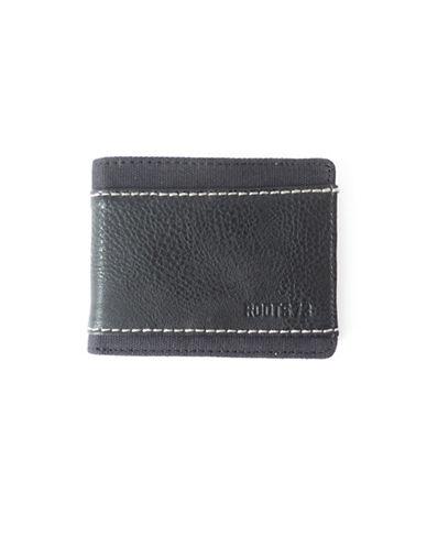Roots City Park Slim Wallet-BLACK-One Size