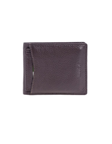 Roots 73 Slim Leather Wallet with Removable Cardholder-BROWN-One Size