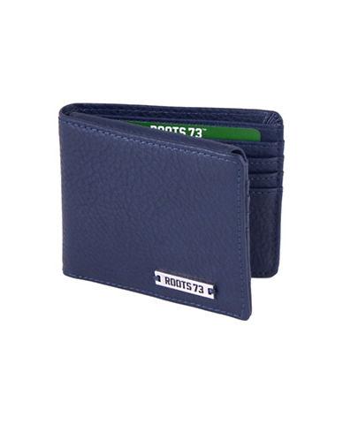 Roots 73 Slim Bi-Fold Wallet-NAVY-One Size