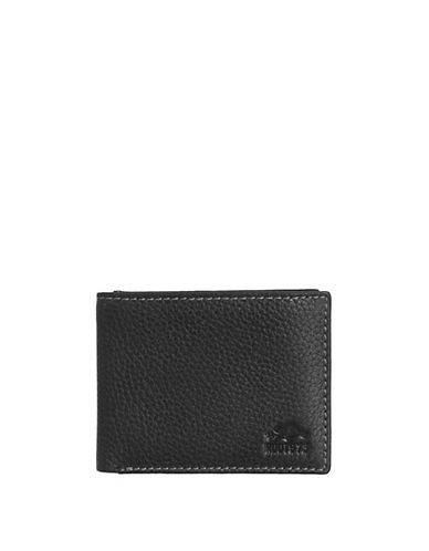 Roots 73 Handcrafted Slimfold Wallet-BLACK-One Size