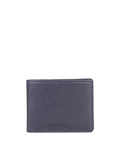 Roots 73 Handcrafted Compact Slimfold Wallet-NAVY-One Size