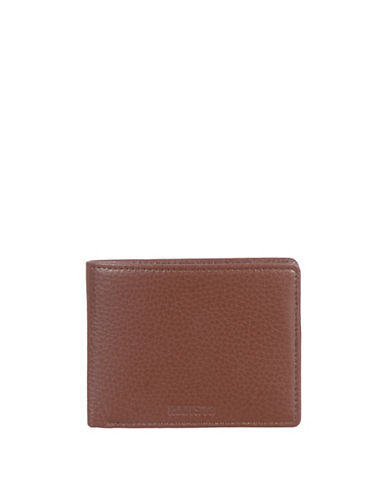 Roots 73 Handcrafted Compact Slimfold Wallet-BROWN-One Size